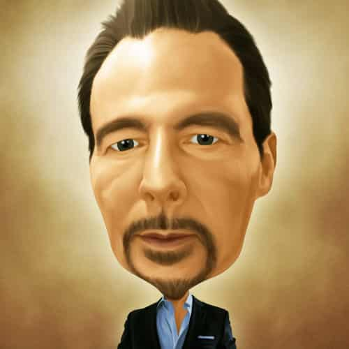 Caricature of Craig Lockerd CEO of Automax Recruiting